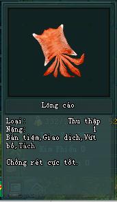 Lông Cáo